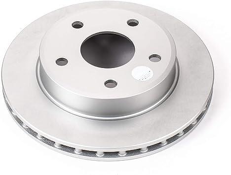 Disc Brake Rotor-Evolution Genuine Geomet Coated Brake Rotor Front Power Stop