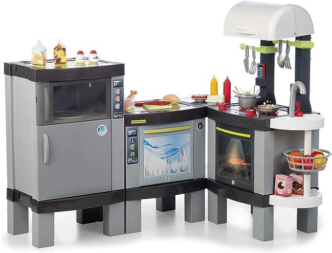 Chicos - Cocina XXXL Smart, Infantil con Luces y Sonido y 31 Accesorios Incluidos, a Partir de 3 Años, Medidas-120.8 x 94.8 x 100 cm (Fábrica de Juguetes 85016): Amazon.es: Juguetes y juegos