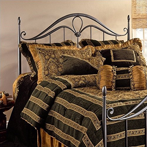 Hillsdale Kendall Metal Bronze - Hillsdale 1290-490 Kendall, Bed Frame Not Included Full/Queen Headboard, Bronze