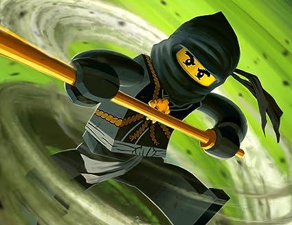 Ninjago Ninja Lego Edible Image Photo Cake Topper Sheet Birthday Party  Event - 1/4 Sheet - 79117