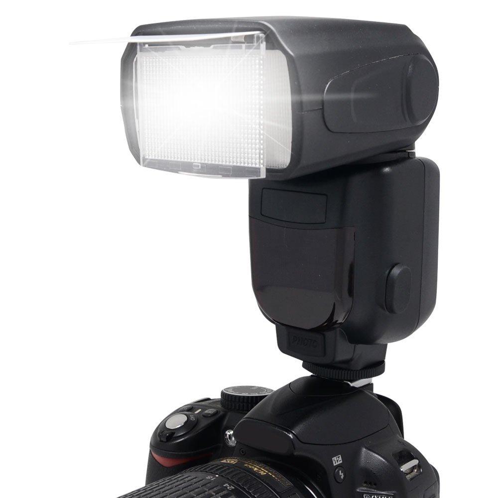 Panasonic High Powered Bounce & Swivel Head Flash. (Alternative To Panasonic LUMIX DMW-FL360L)