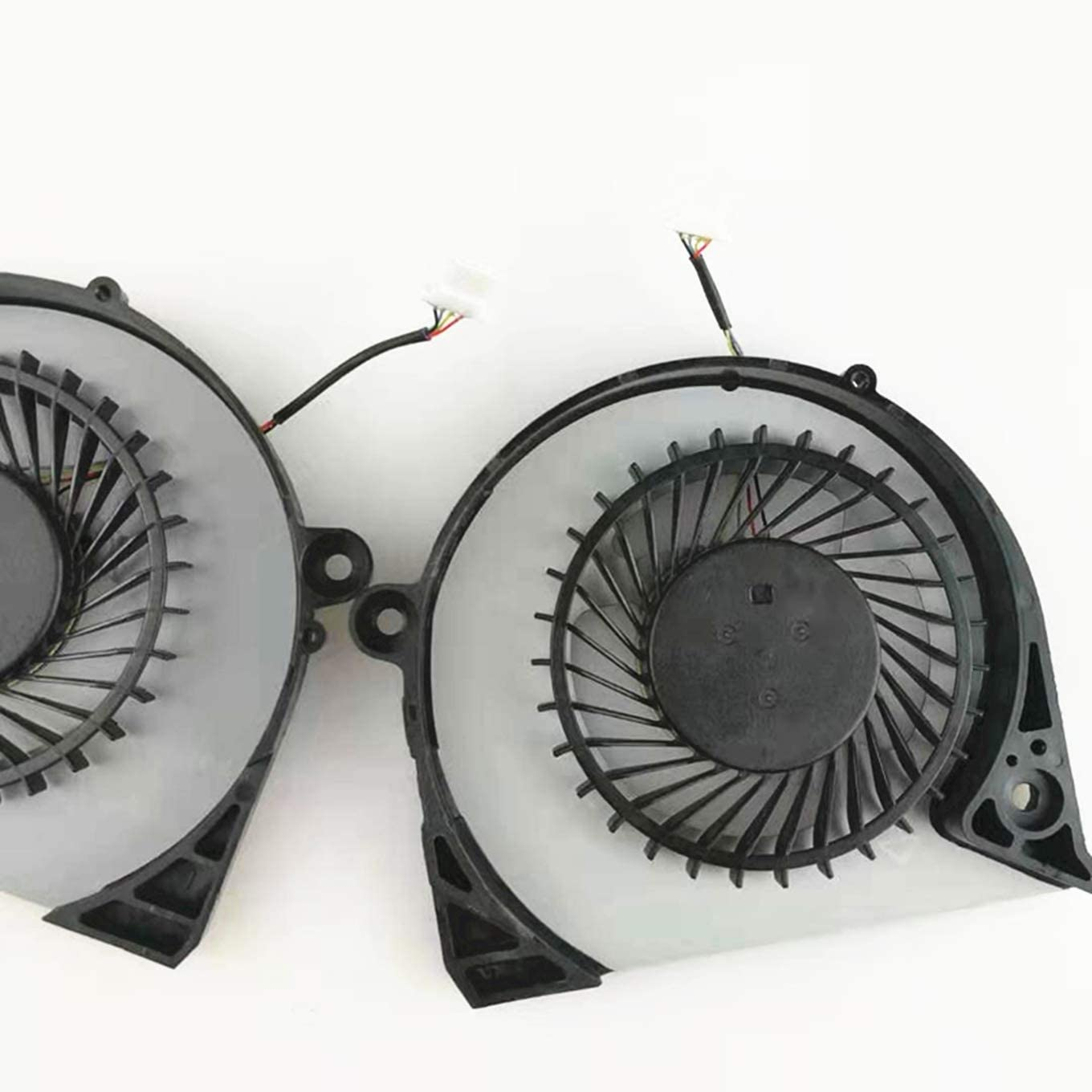 DFS2000054H0T FK0D 5.97 CFM+DFS541105FC0T FK0F 5.51 CFM Fan QUETTERLEE Replacement New CPU+GPU Cooling Fan for Dell Inspiron 15 7577 7588 G7-7588 G7-7577 Series