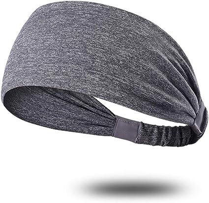 20 g Rand umsäumt Sport Stirnband aus wärmendem Fleece schmal