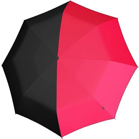 Knirps X1 Mini Funda Pantalla paraguas Paint Twins Neon Rosa