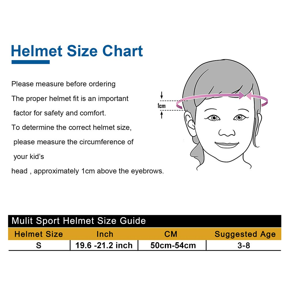 Kids Adjustable Helmet Sports Protective Gear Set Knee Elbow Wrist Pads for Roller Bicycle Bike Skateboard and Other Extreme Sports Activities (Black)