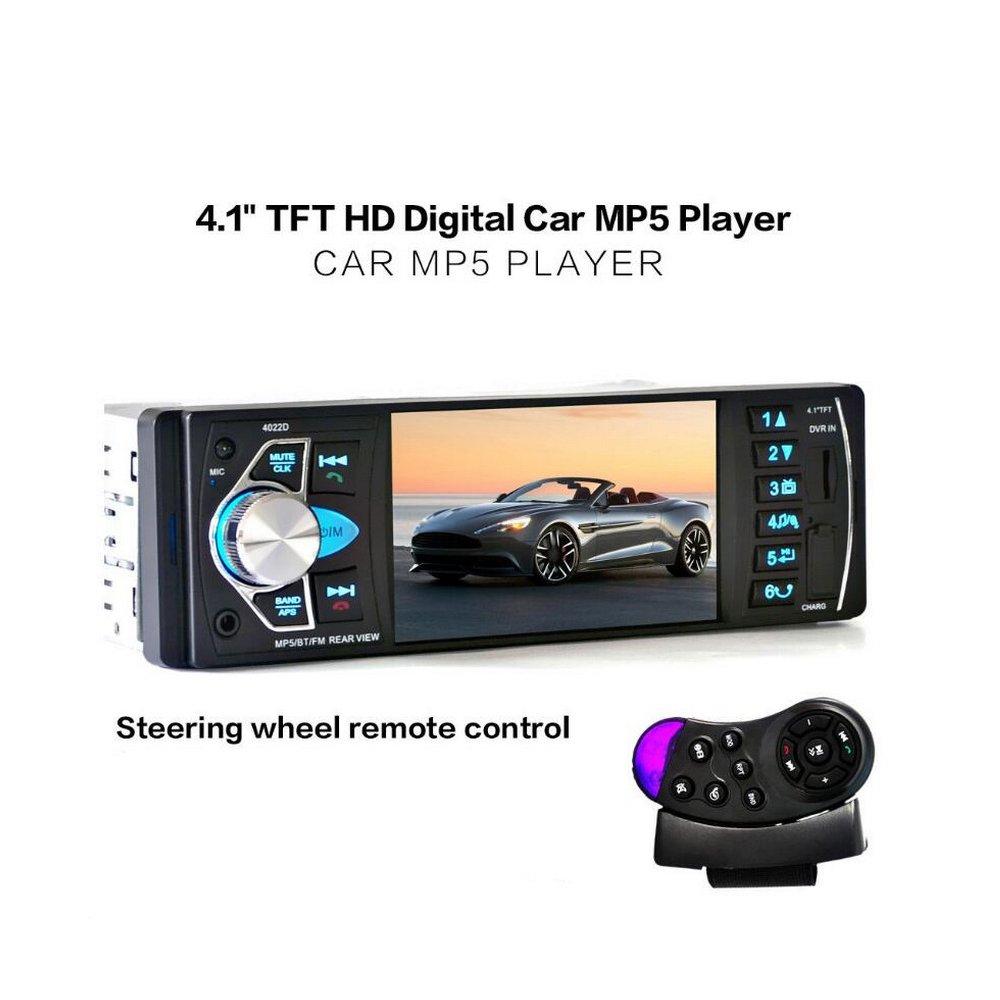 Car Radios Smart Auto Audio 1 Din Car Radio 4 Inch Hd Screen Stereo Multimedia Player Bluetooth Autoradio Mp3 Mp4 Mp5 Sd Usb Tf Support Camera