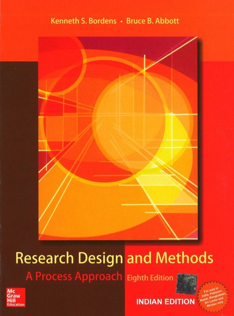 Read Online Research Design and Methods (A Process Approach) pdf