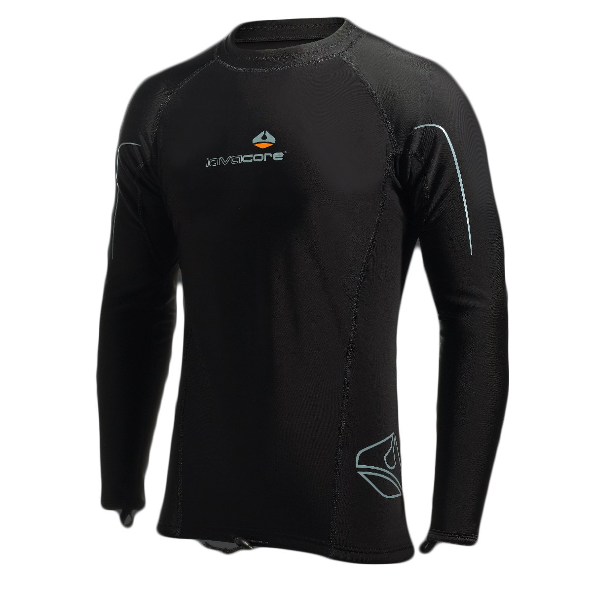 Lavacore Men's Long Sleeve Mult-Sport Polytherm Scuba Diving Dive Shirt Exposure Garment, SM