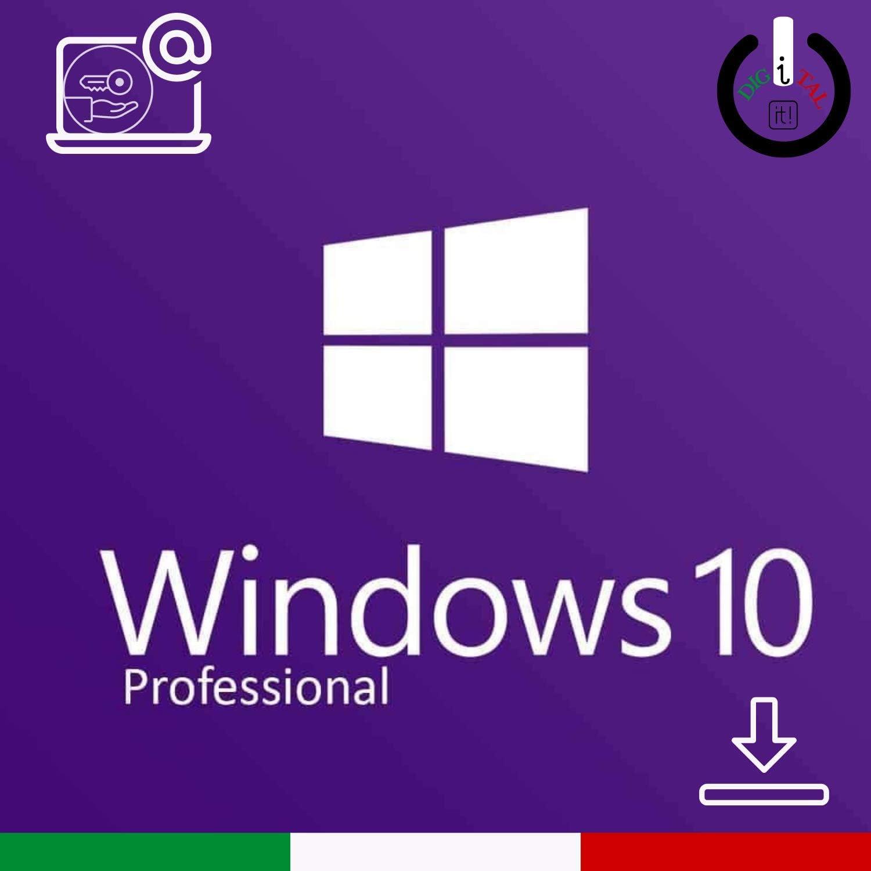 licenza italiana Windows 10 professional