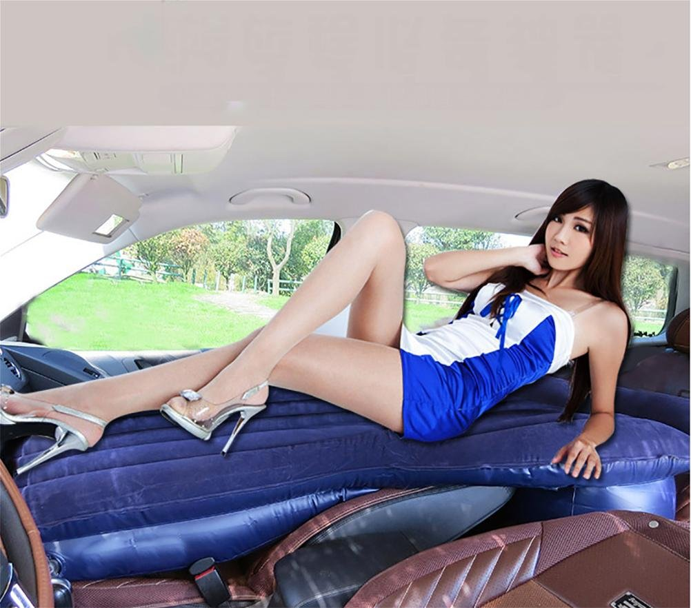 Lameila Air Bed SUV Car Inflatable Cushion Front and Rear Seats Mattress Travel Camping