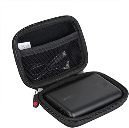 Hermitshell Hard Travel Case for Anker PowerCore 15000 Redux Compact 15000mAh 2-Port Ultra-Portable Phone Charger Power Bank