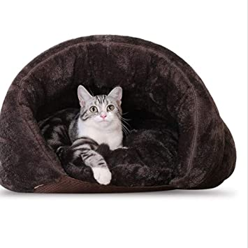 XF Colchón de Felpa para Mascotas Colchón de Felpa para Mascotas Espuma de Memoria sólida para Gatos, Cama ortopédica para sofá ortopédico de Cat Lounge ...