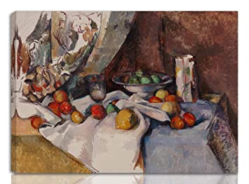 Nature morte by Paul Cezanne Giclee Repro on Canvas