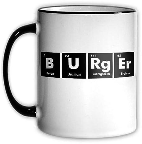 Amazon Burger Periodic Table Coffee Tea Mug With Chemical