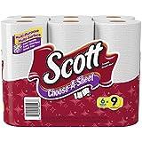 Scott Towels Mega Roll Choose A Size White, 6 ct