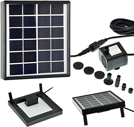 side facing lewisia solar pump 1.5 watt