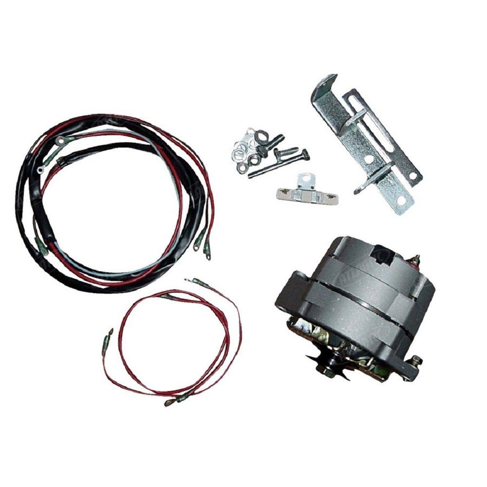6 to 12 volt wiring on farmall tractors amazon com m super m farmall tractor alternator conversion kit 6  m super m farmall tractor alternator
