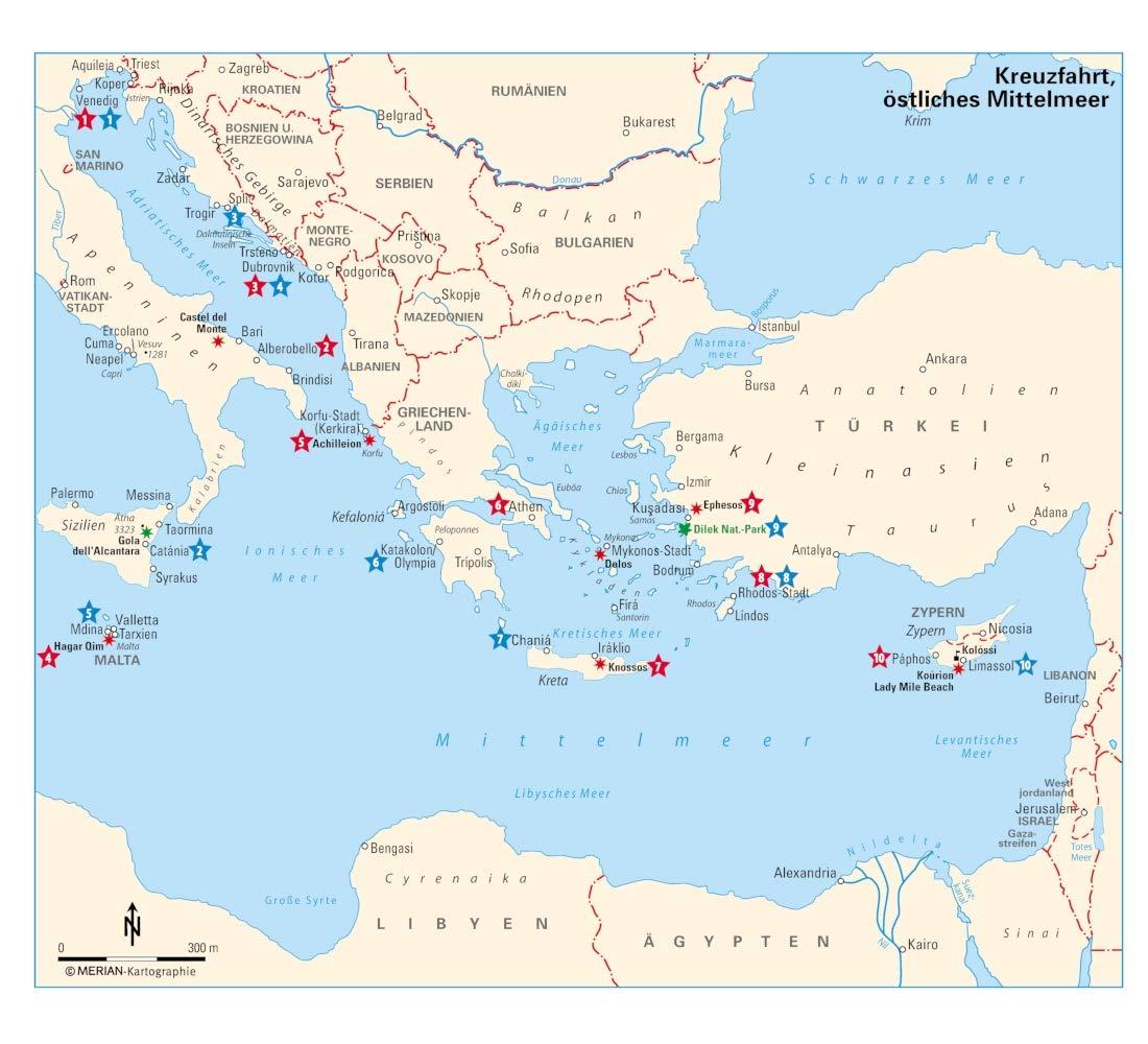 Merian Live Reisefuhrer Kreuzfahrt Ostliches Mittelmeer Mit