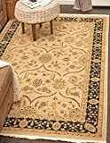 A2Z Rug Heritage Collection Persian Traditional Area Rug Beige – 7′ x 10′ FT High Class Living Dinning Room & Bedroom Rugs, Oriental Floor and Carpets