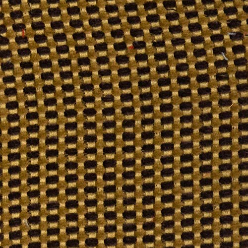 Mustard Brown Gold Texture Plain Fr one Nfpa 701 Fr Wovens Chenille Upholstery Fabric by the yard