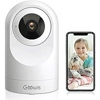 Cámara Vigilancia Interior Goowls 1080P IP Cámara WiFi Casa 360º, Cámara de Seguridad Bebé Mascotas, Visión Noturna…