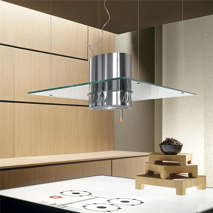 Elica ISOLABELLA Campana extractora suspendida de cocina, 90 x 60 cm: Amazon.es: Bricolaje y herramientas