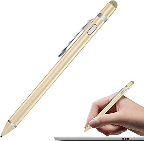 For iPad iPhone Samsung Tablet Touch Pen Capacitive Stylus Pencil High Precision