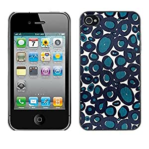 Design Hard ShellAbstract Blue Cells Biology For Ipod Touch 5 Case Cover