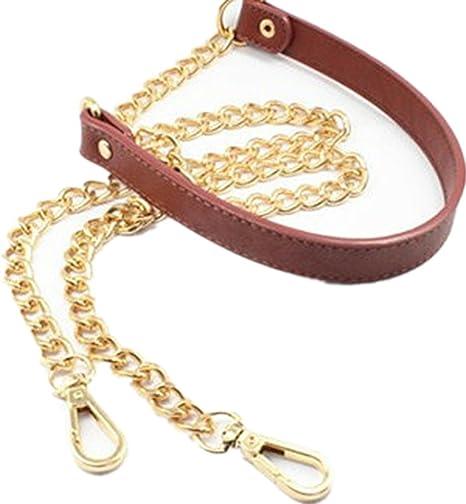 Chain /& PU Leather Shoulder Crossbody Bag//Handbag//Handle//Purse Strap Replacement
