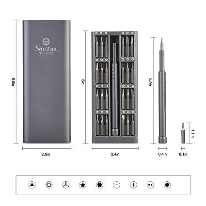 Amazon.com: Juego de mini destornilladores de precisión con ...
