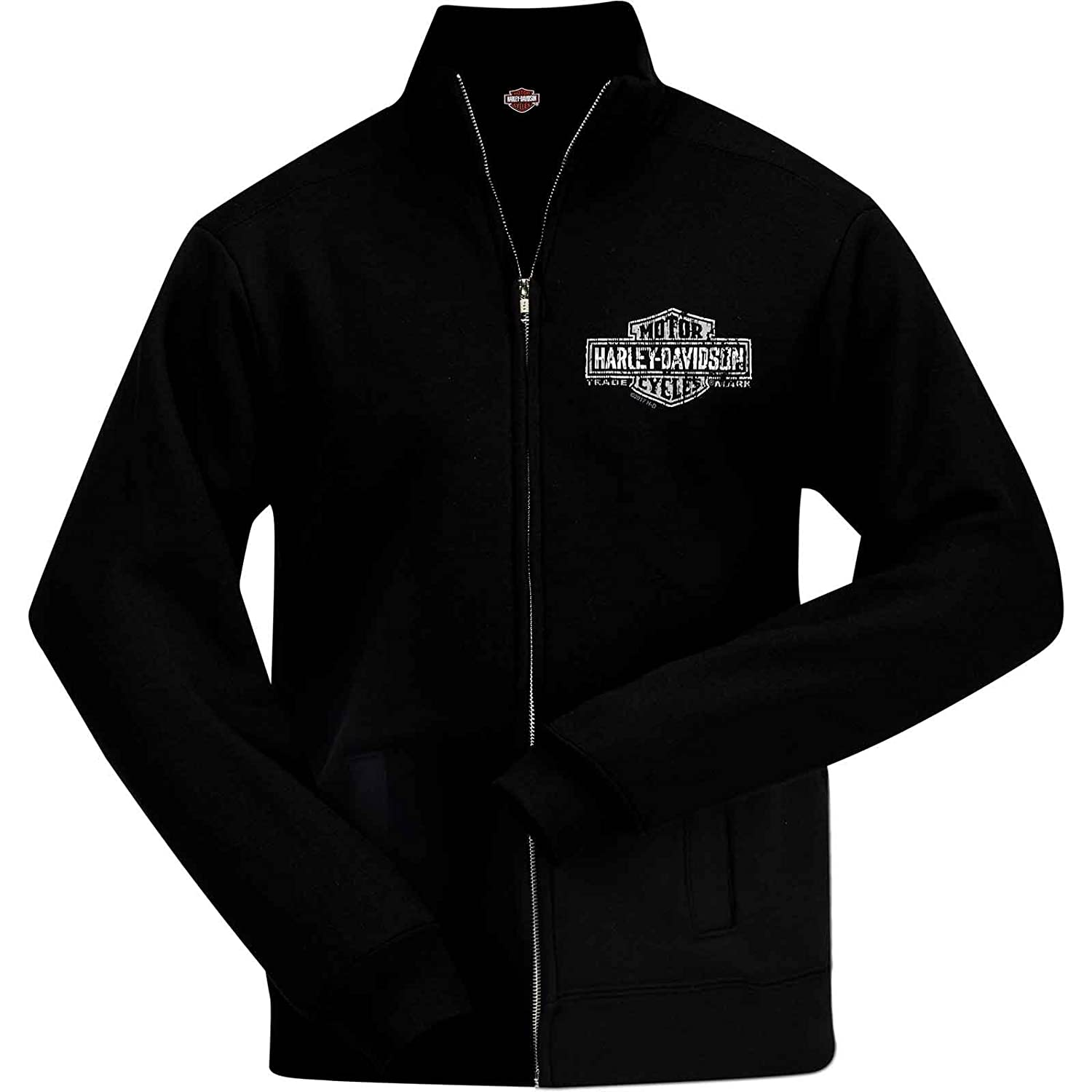 Harley-Davidson Military - Trade Mark No Hood Zip Sweatjacket - Overseas Tour