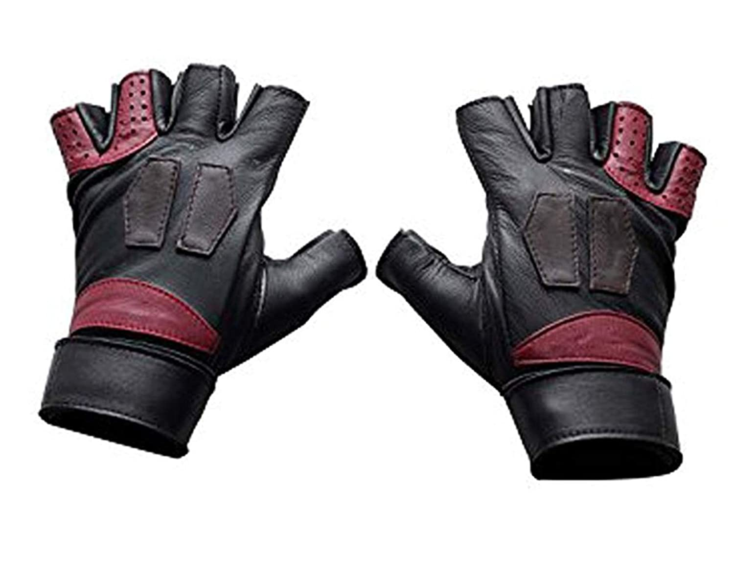 Guardians of the Galaxy Vol 2 Star-Lord Black Leather Costume Gloves