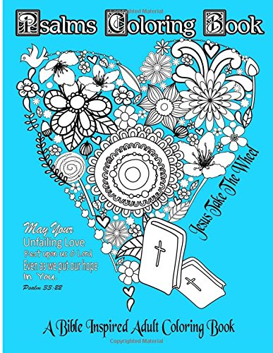 Psalms Coloring Book Inspired Suitable product image