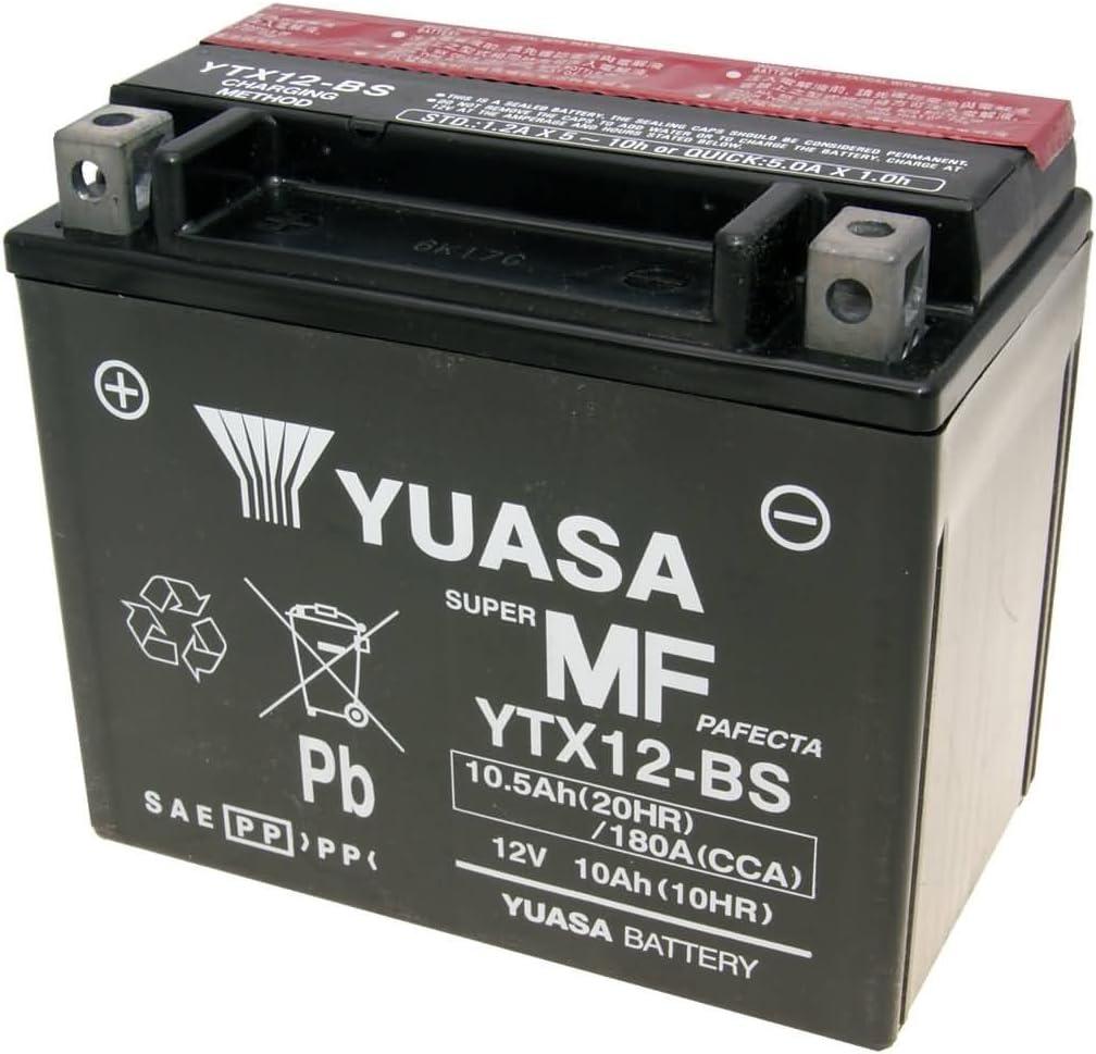 Batterie Yuasa Ytx12 Bs Dry Mf Wartungsfrei Auto