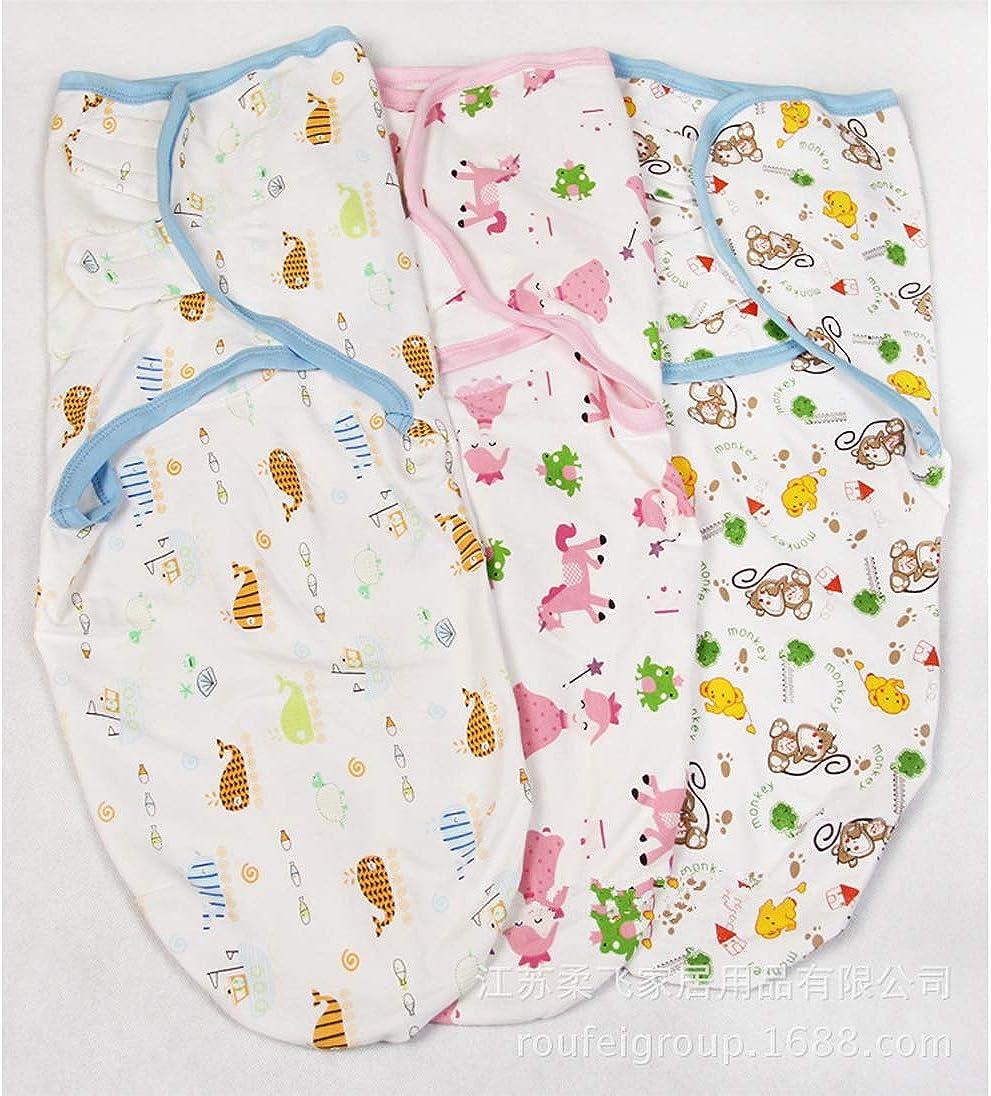 PDYLZWZY Pucksack Baby Wickeldecke f/ür Neugeborene von 0-6 Monate Universal Verstellbare Schlafsack Decke f/ür S/äuglinge Babys Neugeborene
