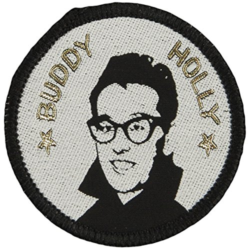 Buddy Holly Men's Woven Patch Black (Buddy Holly Merchandise compare prices)