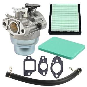 Harbot GCV160 Carburetor with Air Pre Filter Gasket for Honda GCV160A GCV160LA GCV160LAO GCV160LE Engine HRB216 HRR216 HRS216 HRT216 HRZ216 Lawn Mower 16100-Z0L-023