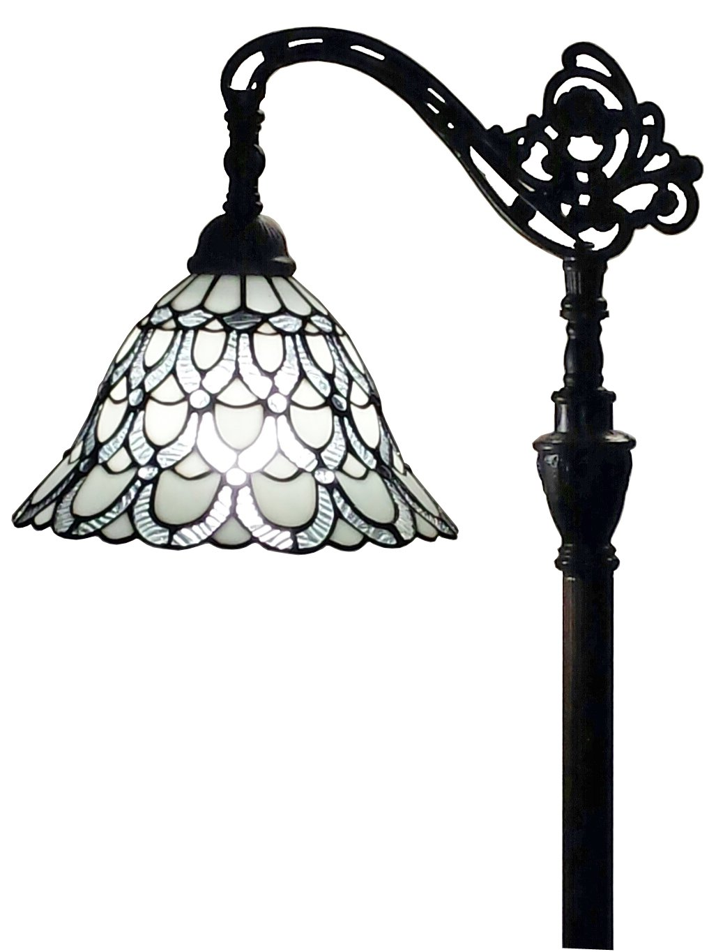 Amora lighting am107fl11 tiffany style floor lamp 62 in adjustable amora lighting am107fl11 tiffany style floor lamp 62 in adjustable shade amazon aloadofball Image collections