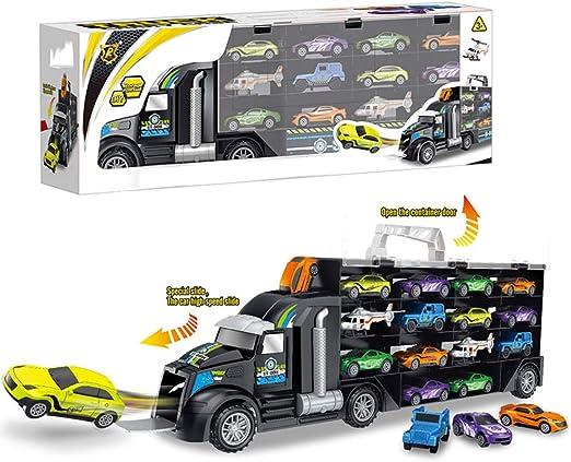 De los niños del coche camión de juguete de almacenamiento caja de la caja de transporte