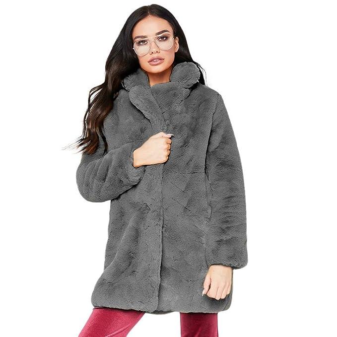 Logobeing Chaqueta Suéter Abrigo Jersey Mujer Invierno Talla Grande Moda de Mujer Cálido Vintage Animal Estampado