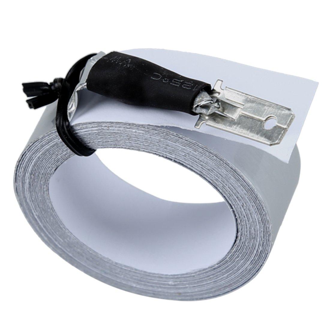 SODIAL Conjunto de sensor de aparcamiento electromagnetico de parachoques trasero sin agujeros invisibles -UK Sensor de aparcamiento R