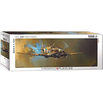 EuroGraphics Spitfire by Barrie A.F. Clark 1000-Piece Puzzle: Toys & Games [5Bkhe0201938]