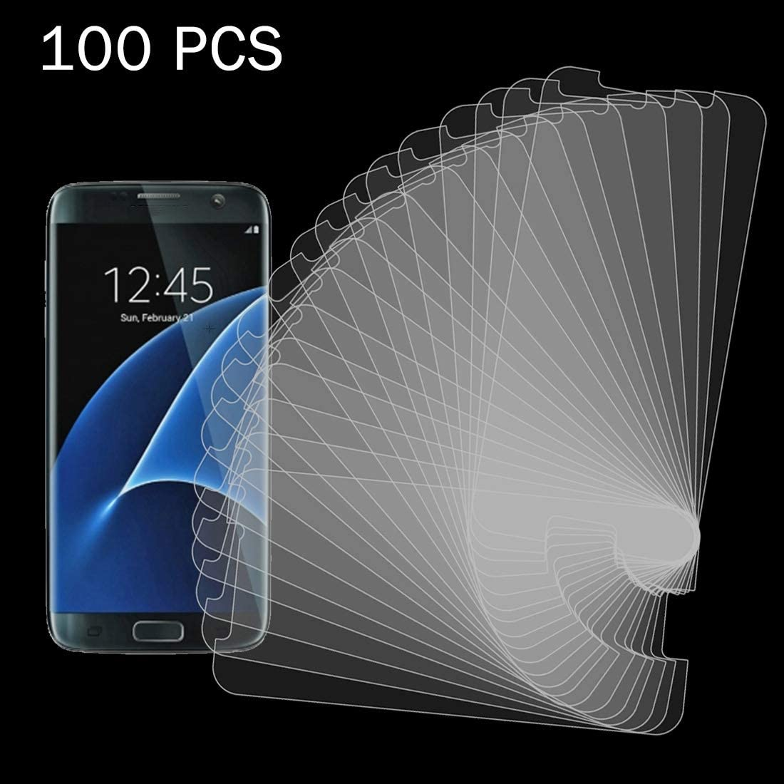 G930 0.26mm 9H Surface Hardness 2.5D Explosion-Proof Tempered Glass Non-Full Screen Film IPartsBuy Screen Tempered Glass Film 100 PCS for Galaxy S7