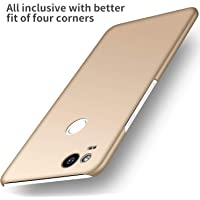 Anccer Google Pixel 2 Case [Colorful Series] [Ultra-Thin] [Anti-Drop] Premium Material Slim Full Protection Cover for Google Pixel 2 (Smooth Gold)