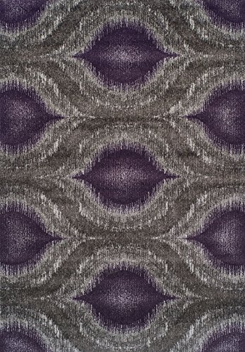 Dalyn Plum (Dalyn Contemporary Rectangle Area Rug 5'3