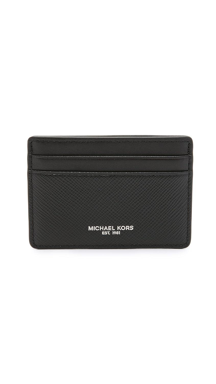 the best attitude 91119 793ac Michael Kors Men's Harrison Leather Card Case