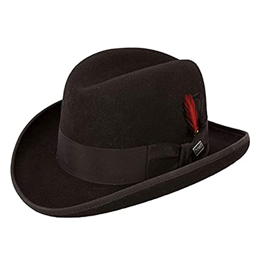ef1d815f2 Dobbs Fleetwood DWFLWDB-3027 Men's Wool Fedora Hat
