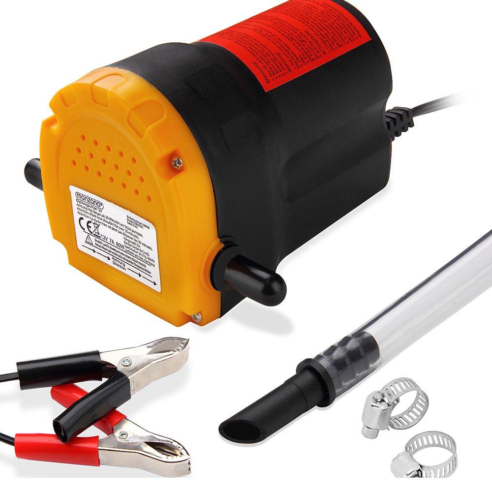 Pompe à vidange extraction huile diesel aspiration Kit pour vidange auto huile 12V
