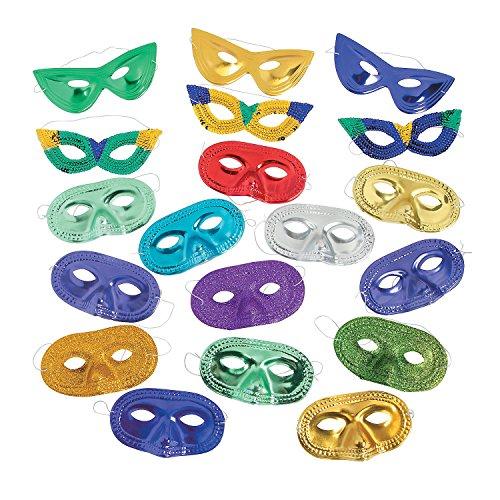 Colorful Mardi Gras Mask -