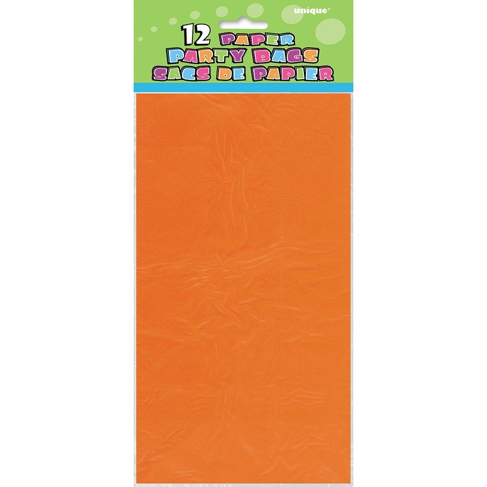 Confezione da 12 Buste Regalo in Carta Nera Unique Party 59012